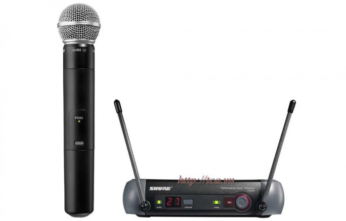 Shure PGX24/SM58 UHF Wireless System
