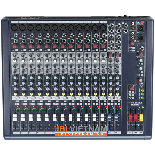 Mixer SOUNDCRAFT MPMi12