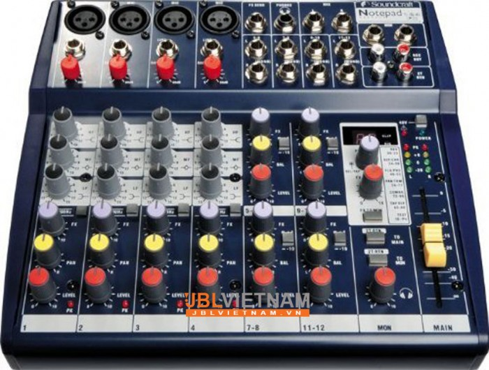 Mixer SOUNDCRAFT Notepad124FX